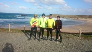 Some of the Intermediate riders West Pentire